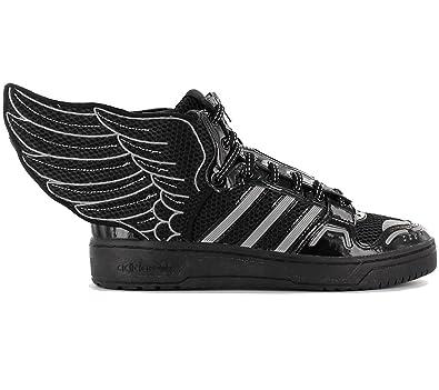 595ffd836b04 adidas Originals Men s Jeremy Scott Wings 2.0 Trainers - Black - 8UK ...