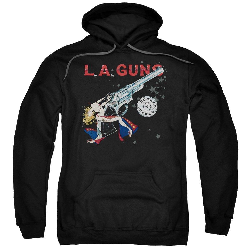 L A Guns Cocked Loaded Adult Sweathshirt 4378