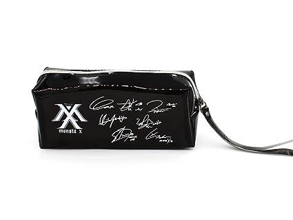 Fanstown BTS KPOP pencil case + BTS logo pendant with signature PVC card