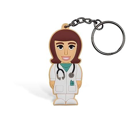 Medico Mujer Llavero, Wannabe, llavero, llavero para mujer ...