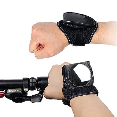 Wildlead Portable Vélo Rétroviseur Bracelet réglable pour vélo arrière arrière miroirs de cyclisme Accessoires