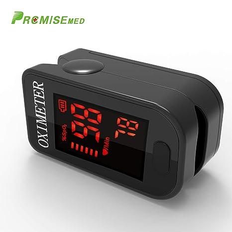 Oxímetro de sangre, Oxímetro de pulso para dedo - PRCMISEMED Pro Series F4 Oxímetro de
