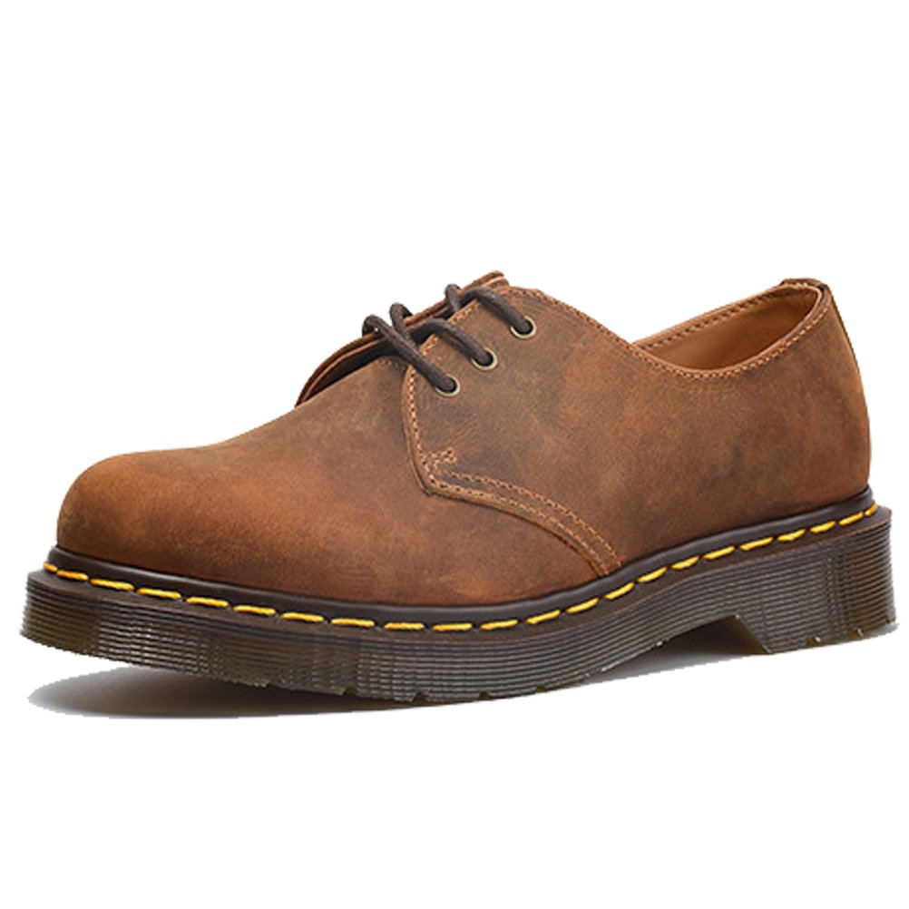 West See Herren Business Schuhe Leder Kurzschaft Stiefel Herrenschuhe Oxford Braun Schnürer Schnürsenkel Ital-Design Business-Schuhe Braun Oxford 9f75b7