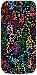 Snoogg Textura Sin Fisuras Con Flores Y Mariposas Interminable Patrón Floral ...