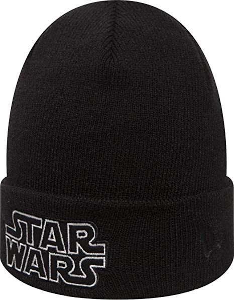 separation shoes 9a8d5 84653 New Era Glow in The Dark Knit Star Wars Youth Beanie Beany Wool Hat  Jugendliche  Amazon.co.uk  Clothing