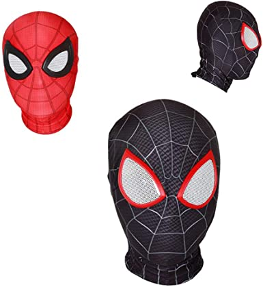 Cosplay Spiderman Mask Headgear Halloween Costume Prop