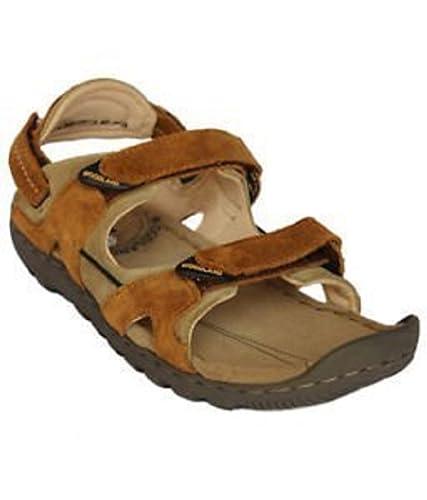 b193da1ac42f4 Woodland Leather Camel Color Sandal-43 EU (491108): Buy Online at ...