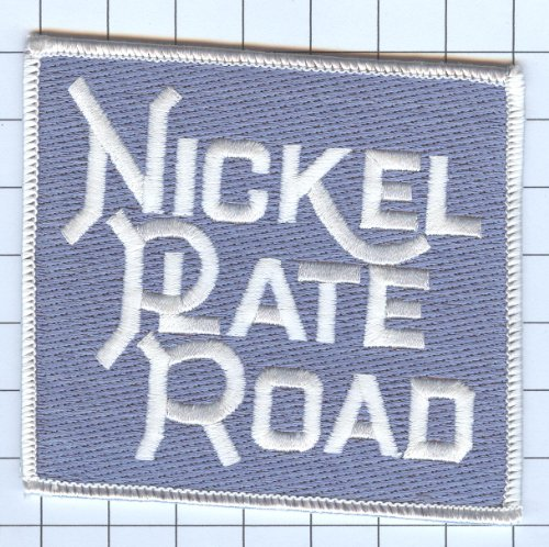 Railroad 100% Embroidered Patch Collectible - Nickel Plate Road 4