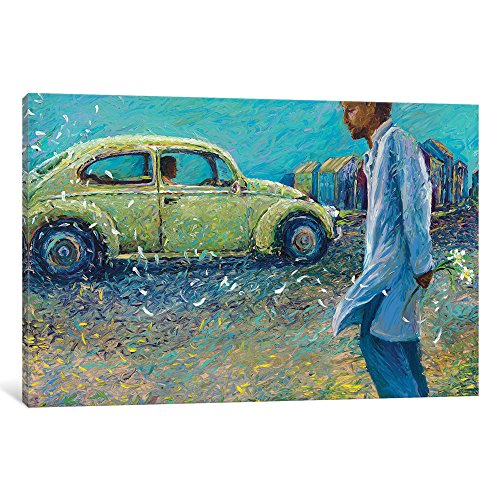 iCanvasART IRS118 My Thai Volkswagen Gallery Wrapped Canvas Art Print By Iris Scott, 40'' x 1.5'' x 60'' by iCanvasART