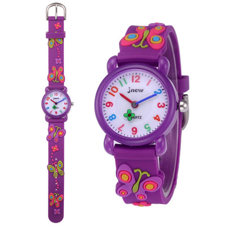 Kids Watches, 3D Cute Cartoon Waterproof Watch for Girl Children Toddler Wrist Watches by Akaru (Image #2)