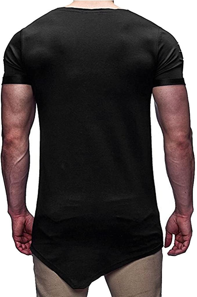 Mens T Shirts Colmkley Graphic Cool Skull 3D Print Short Sleeve Casual Blouse
