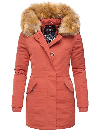 Marikoo Damen Winter Mantel Winterparka Karmaa 24 Farben XS 5XL