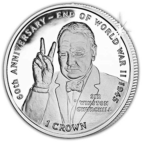 Pobjoy Mint Limited Isle of Man 2005 Sir Winston Churchill Unc. Cupro Nickel Commemorative Coin (Coin Commemorative Churchill)