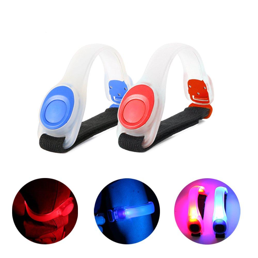AccuBuddy Unisex-Youth 700667838724 LED Armband-Bright Shining Strobe Light for