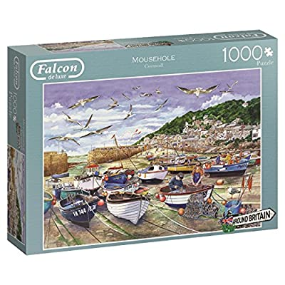 Jumbo Spiele 11186 Puzzle Da 1000 Pezzi Falcon Around Britain Mousehole