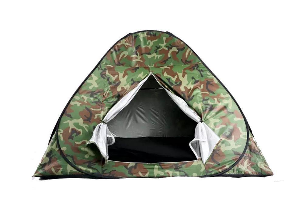 Cool camuflaje tienda de campaña 2 x 2 m 3 - 4 al aire libre ...