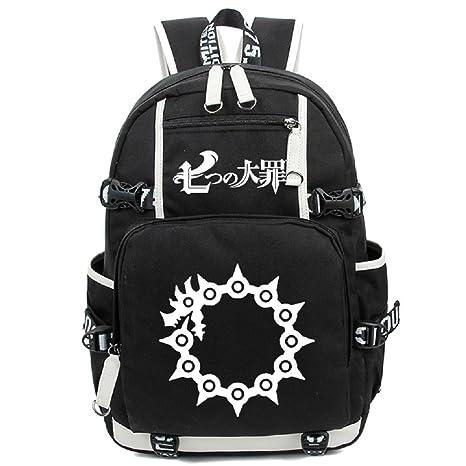 a295fd6cafd9 Siawasey Japanese Anime Cosplay Bookbag Backpack Shoulder Bag School Bag
