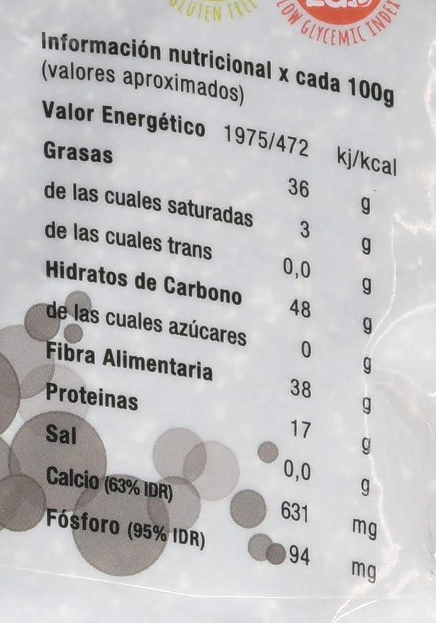 Energy Feelings Chia semilla, XL - 500 gr: Amazon.es: Alimentación ...