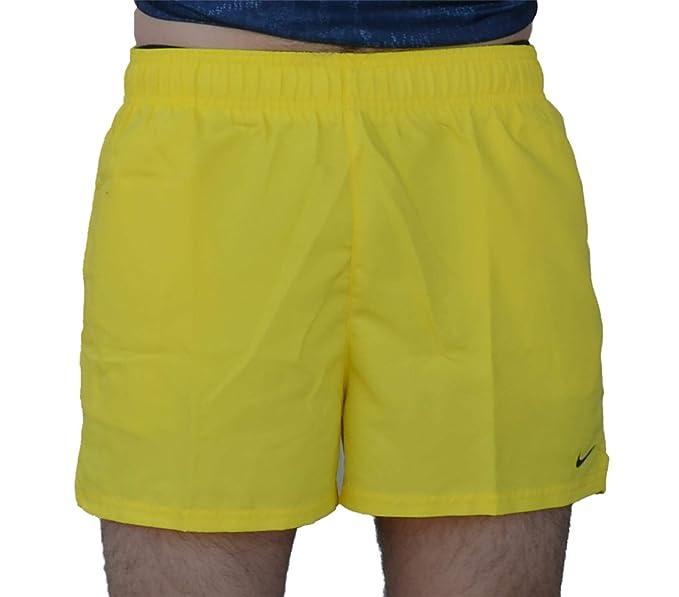 Nike TRAJE DE BANO PARA HOMBRE AMARILLO NESS9499730: Amazon ...