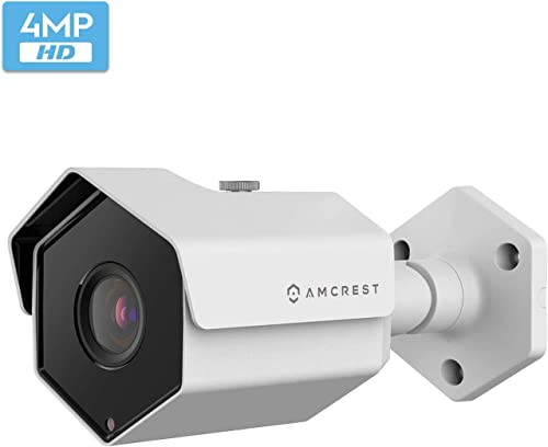Amcrest UltraHD 4MP Outdoor POE Camera 2688 x 1520p Bullet IP Security Camera
