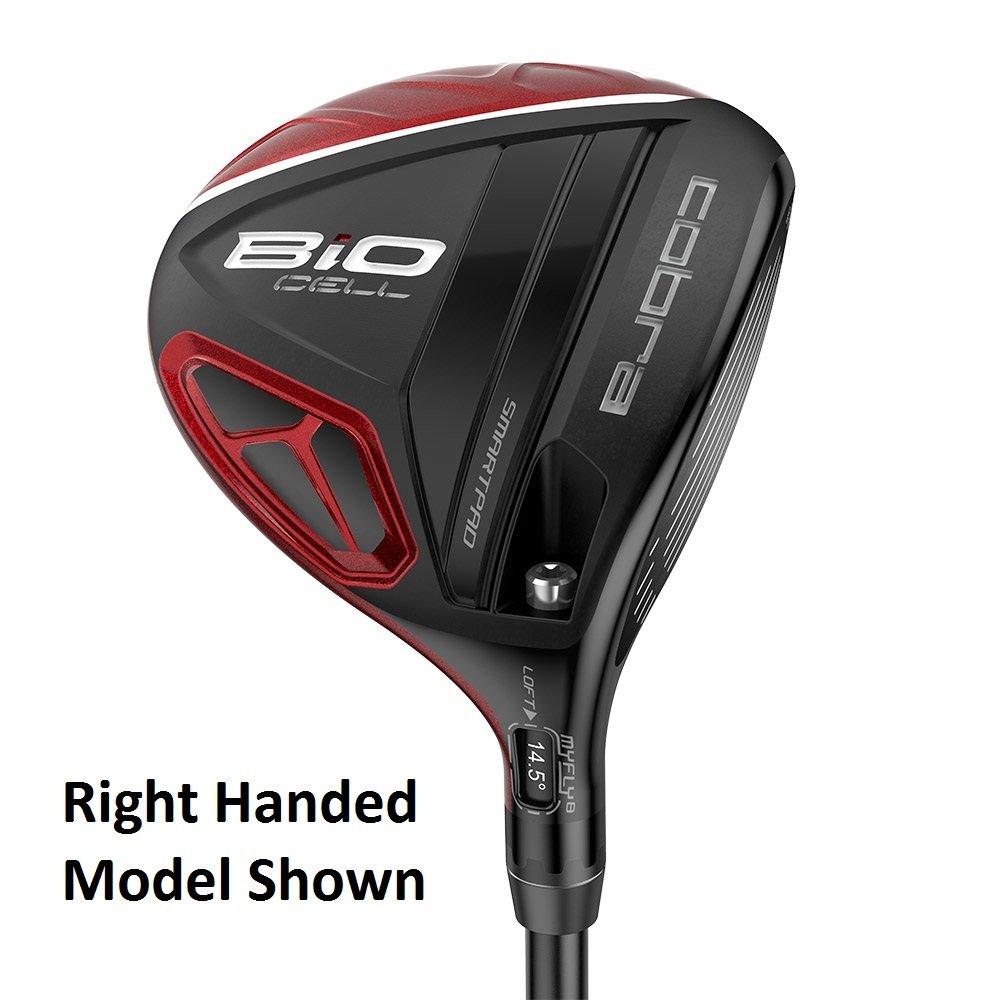 Cobra Golf LH BiO Cell #3/4 Fairway Wood Extra Stiff Flex Red (Left Handed)