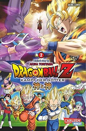 Dragon Ball Z - Kampf der Götter 2: Ein neuer DRAGON BALL Z - Anime-Comic aus der Feder von Akira Toriyama! Taschenbuch – 1. März 2016 Carlsen 3551780706 Manga; Abenteuer/Action Manga; Shonen / Shounen