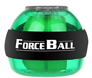 SaySure - Gyroscope LED Wrist Power Force Ball Grip Ball Arm Muscle Exercise Strengthener Speed Meter 5 Colors - GMN-BG-SPT-000468 2jNoDRyxP