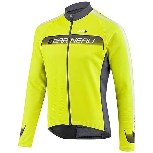 19e99c10c Louis Garneau Men s 2015 Equipe Long Sleeve Cycling Jersey (BrightYellow