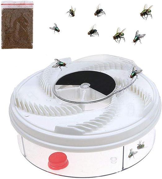 Flytrap Pest Catcher Killer for Hotel Indoor Automatic Caught Fly Killer+Bait