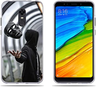 DIKAS Funda para Xiaomi Redmi 5 Plus/para Xiaomi Redmi Note 5, TPU ...