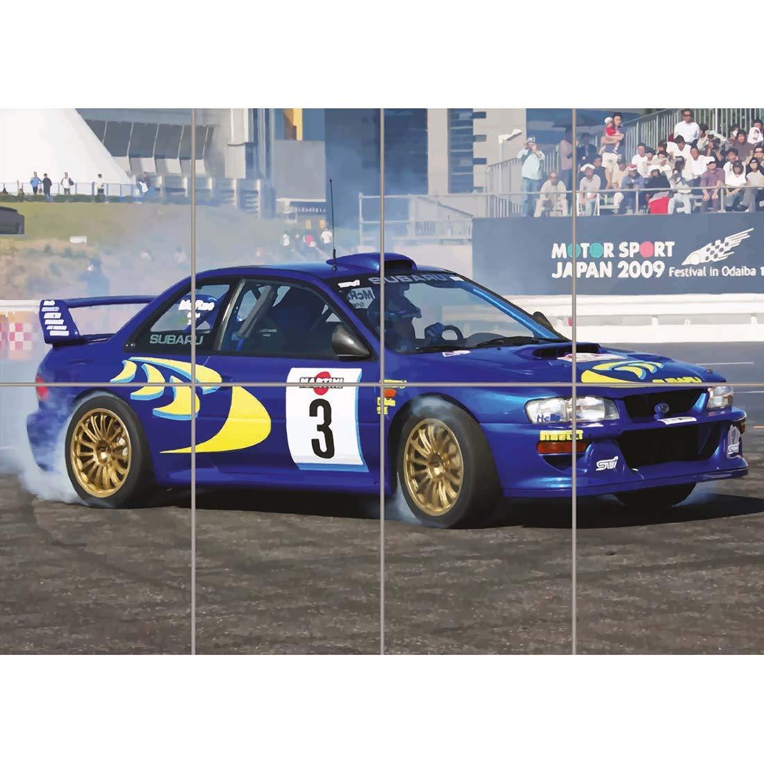 Doppelganger33 LTD Subaru Impreza WRC Colin McRae Rally CAR Giant Art Print Picture Poster ST946