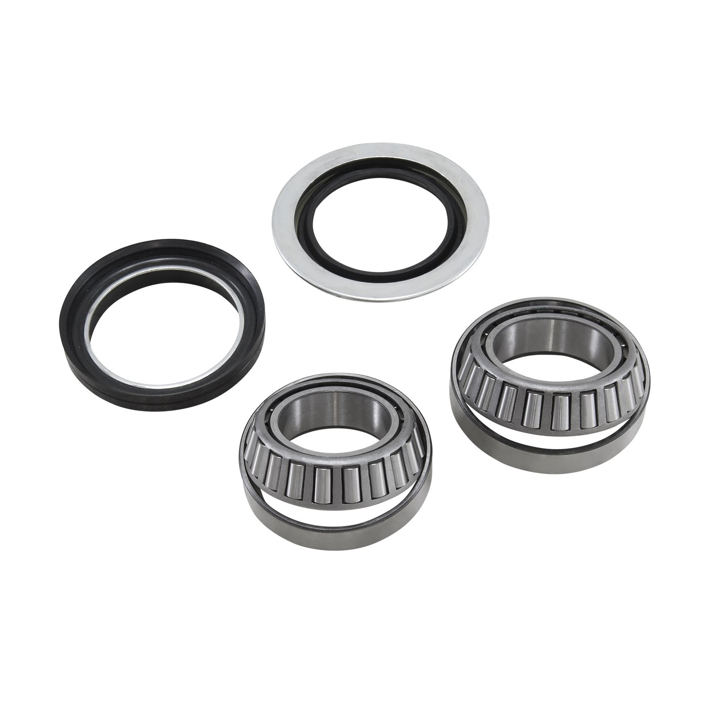 Yukon (AK F-F01) Front Axle Bearing and Seal Kit for Dana 44/Ford 1/2 Ton Truck