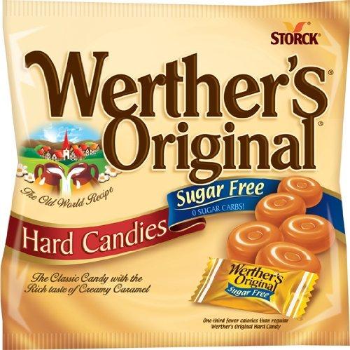 Werther's Original Sugar Free Caramel Hard Candies 12 pack by Werther's