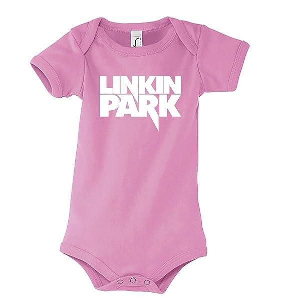 Jungen//Mädchen KURZARM LINKIN PARK 1 FUN BABY//KID//TODDLER T-Shirt