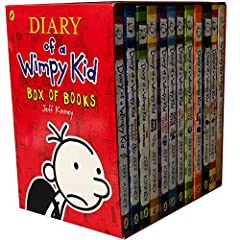 Diary of a Wimpy Kid 12 Books Complete Collection Set Box of Books NEW Edition. Description: Titles in this collection: Diary Of a Wimpy Kid Diary Of a Wimpy Kid - Rodrick Rules Diary Of a Wimpy Kid - The Last Straw Diary Of a Wimpy Kid - Dog...