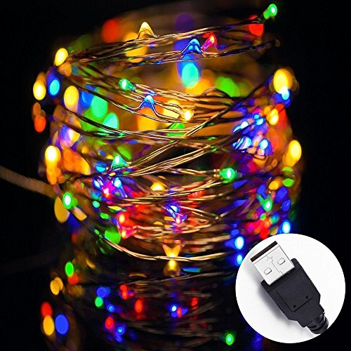SOLLA Powered 100LEDs Waterproof Christmas