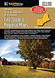 Maine, New Hampshire & Vermont City, State, & Regional Maps