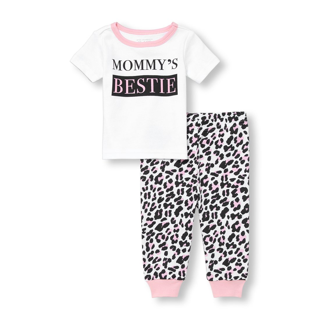 The Children's Place Baby Girls 2 Piece Short Sleeve Pajama Set The Children's Place