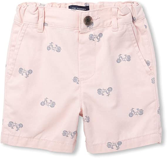 The Childrens Place Big Boys Solid Waistband Shorts
