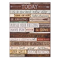 Patton Wall Decor Today is A Day Wood Wall Art