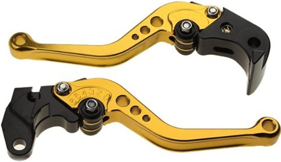 Gold LOOYUAN 7//8 Brake Clutch Levers Protect Guard For Yamaha YZFR1 R6 FZ1 FZ6