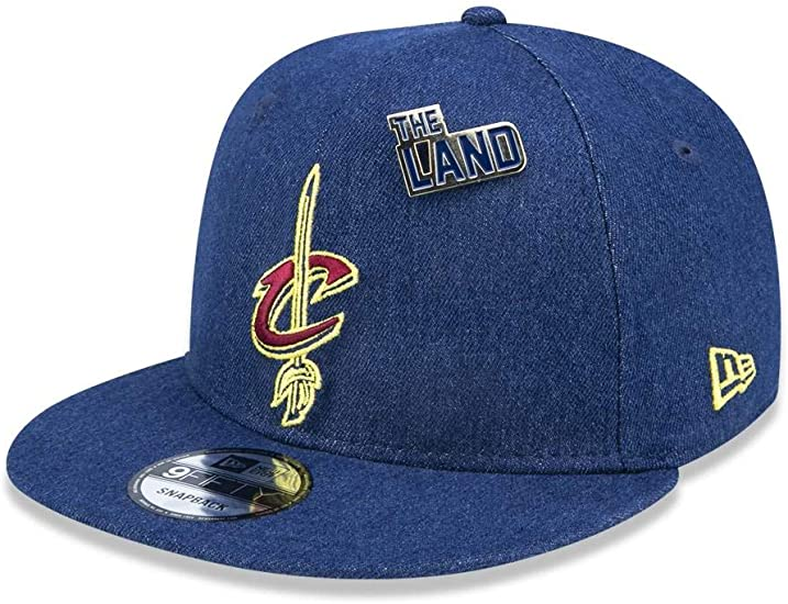 NBA Cleveland Cavaliers New Era Low Profile 59FIFTY Fitted Cap Hat Headwear