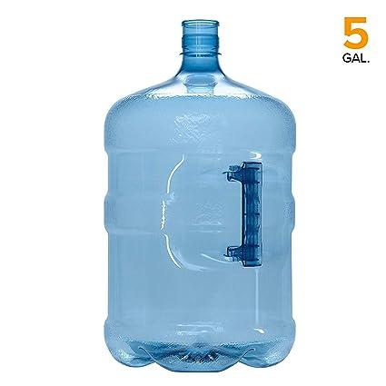 Amazon.com: Contenedor de 5 galones sin BPA Pet Plástico ...