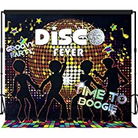 Musykrafties Disco Party Backdrop Banner Scene Setters 7x7 ft