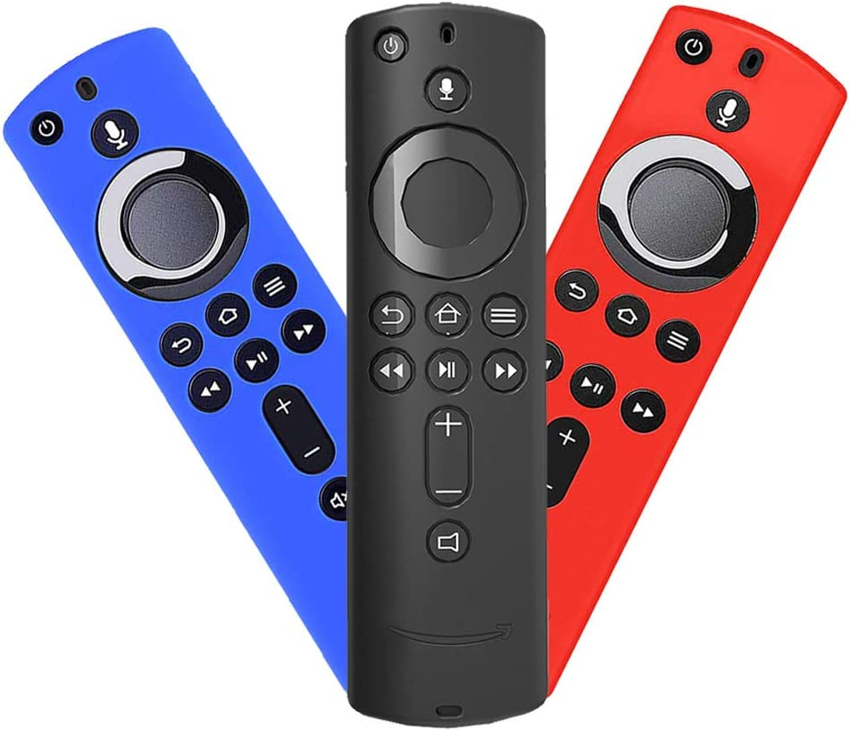 XINYAN Remote Control Cover Protective Case,Compatible Fire TV Stick 4K Fire TV // Fire TV Cube Anti Slip /& Shock Proof Remote Control 3rd Generation