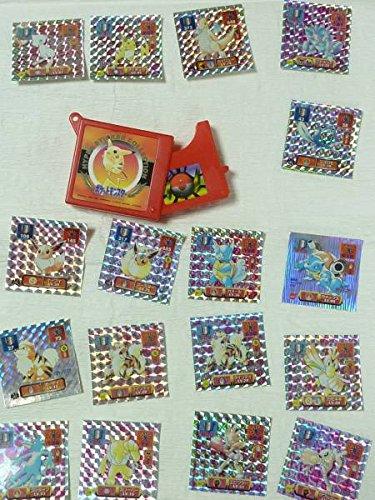 ポケットモンスター 最強シール烈伝セット 1997年 ポケモン コレクション ケース付き ピカチュウ