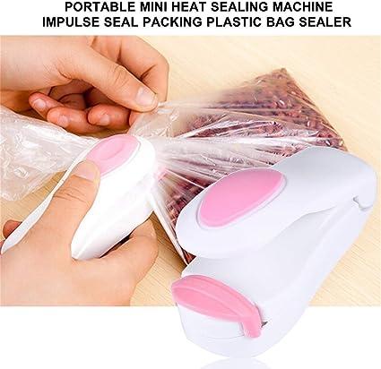 Vacuum Food Sealer Mini Portable Heat Sealing Machine Impulse bag Sealer Seal
