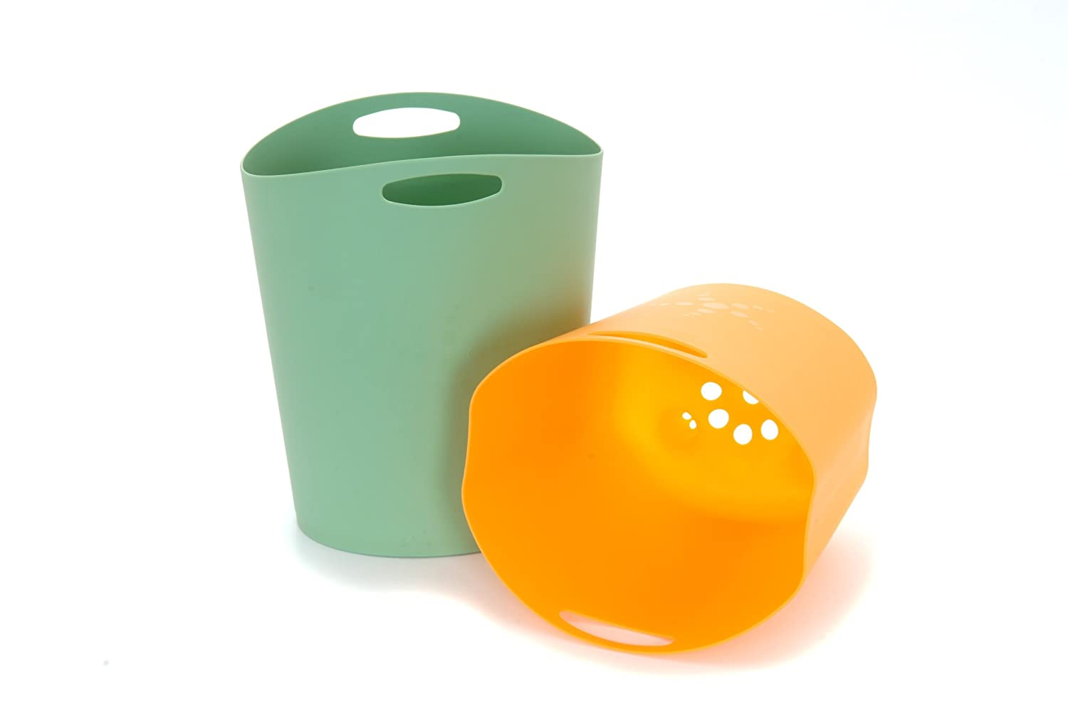 Amazon.com : Mebby Bath Toy Storage, Orange/Green (Discontinued by ...