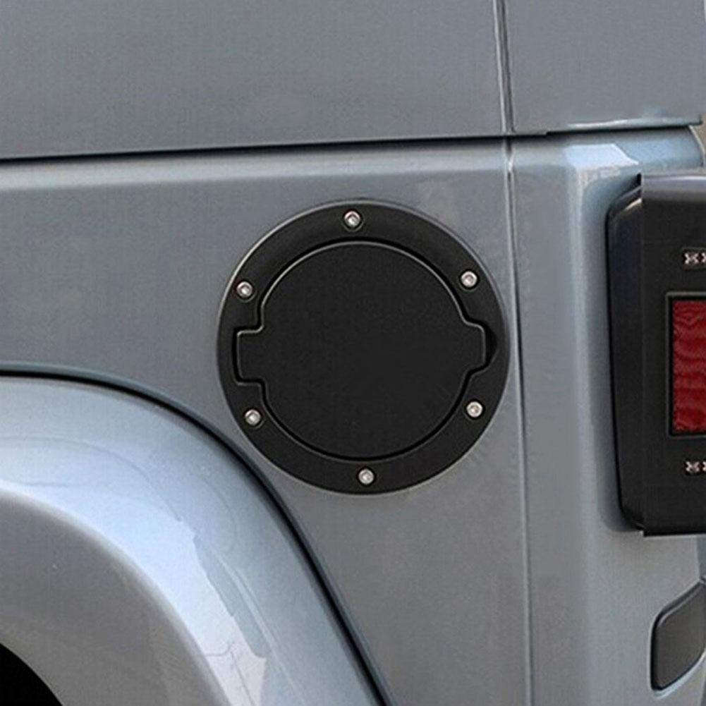 iBaste/_top Autotankdeckel , Aluminiumlegierung 4-T/ürer 2-T/ürer Tankdeckel f/ür Wrangler