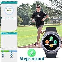 SoloKing Sky1 Smartwatch para Android 4.3 y iOS 7, muñeca Reloj ...